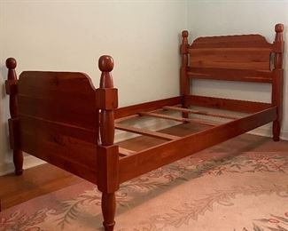 Cherry twin beds