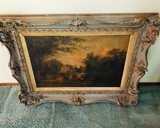 Antique Painting in fantastic Frame