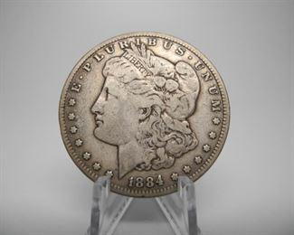 1884 Silver Dollar