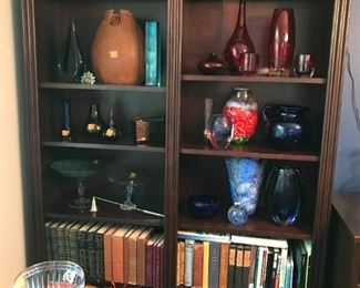 There are two pair of these bookshelves.