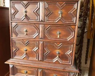 Early Kittinger tall chest or dresser.