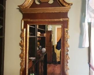 Vintage top quality Federal-style mirror, Sold by Kittinger Furniture.