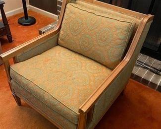 Retro chair, matches sofa.  $75
