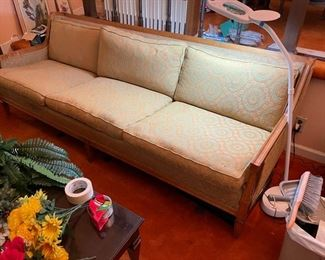 Retro sofa $100.  Available now