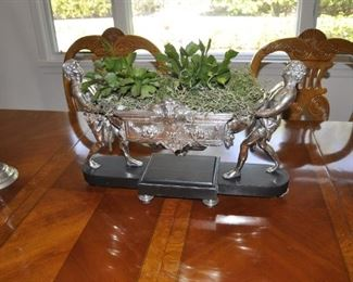 Antique silver plated French Jardiniere