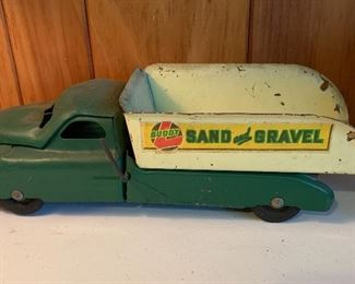 Buddy L Pressed Steel Sand and Gravel Truck