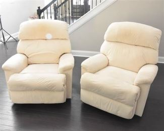 Crme Colored Recliners
