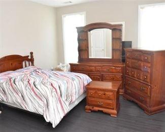 Four 4 Piece Bedroom Suite