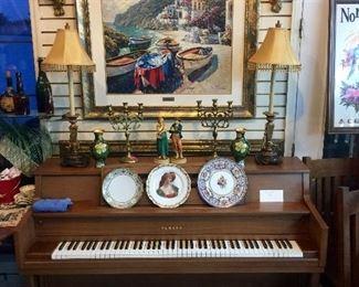 Nice piano w/Bech $275