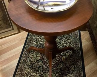 Antique candle table
