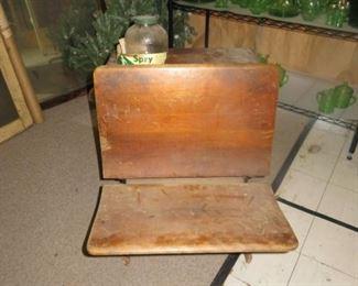 Antique School Desk