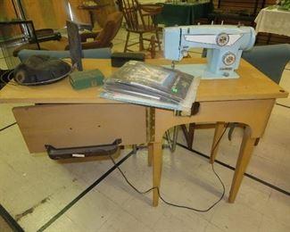 Nice vintage sewing machine