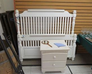 Full Size Bed & Nightstand