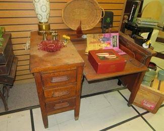 Antique Typewriter Desk