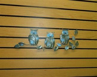 MCM Owl Decor