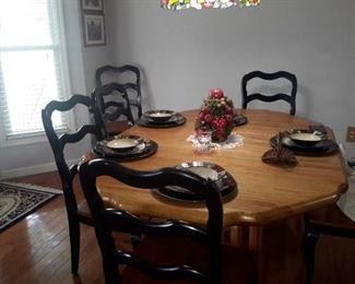 Kitchen Dinette 6 chairs