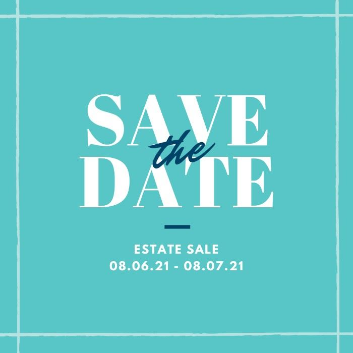 Save the date! Aug 6 & Aug 7