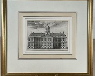 """ANTIQUE FRENCH ENGRAVING 