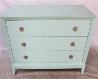 3 - Jonathan Charles 3 drawer chest 34 1/2 x 39 1/2 x 18 1/2