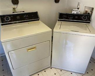 Whirlpool Heavy Duty Washer #LA780OS & Whirlpool Heavy Duty Dryer!