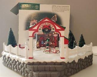 "Dept. 56 ""Village Animated Photo with Santa""  https://ctbids.com/#!/description/share/1017355"