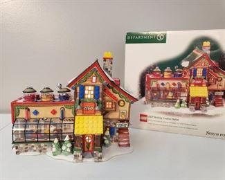"Dept. 56 ""LEGO® Building Creation Station"" https://ctbids.com/#!/description/share/1017372"