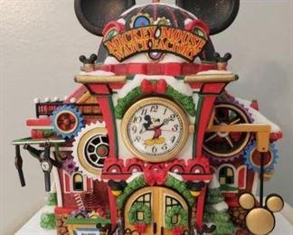 """Dept. 56 """"Mickey Mouse Watch Factory"""" https://ctbids.com/#!/description/share/1017336"""