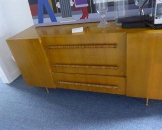 """""""Mid Century Modern Credenza/ Dresser - 21"""" D  x 67"""" L  x 32"""" H"""