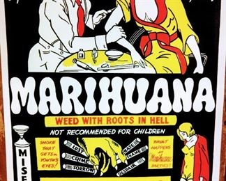 Vintage Marijuana Poster