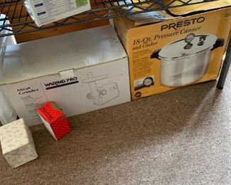 Like I said, you can be self-sufficient.  There are some great kitchen machines in this sale!