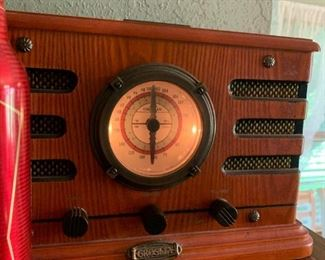 Old style radio - We've been listening to rock and roll!