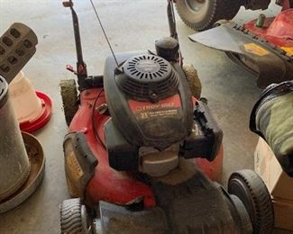 Seems to be a good, solid mower.
