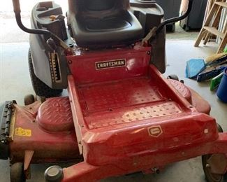 """About 6 years old, Craftsman 6000, 54"""" cut.  Well taken care of.  It has a Kohler 24 horse, and is a 7000 series.   This mistakenly said 60"""" cut - please note the change."""