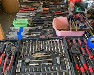 Lots of tools, singly and by the set.