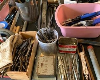 More important things.  Mostly drill bits.