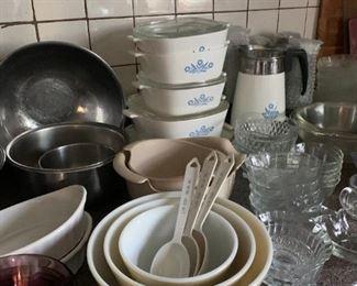 Kitchen supplies.