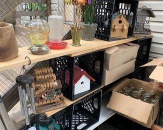 Cute birdhouses!