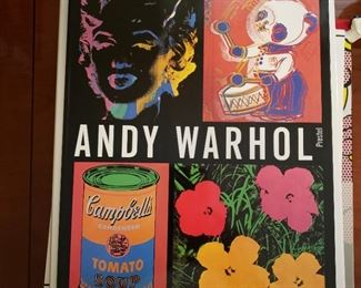 Andy Warhol art book