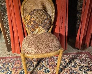 We have 6 of these chairs (they are currently around a breakfast table)