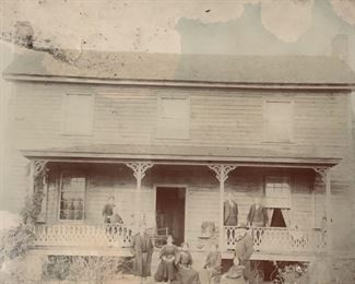 Early picture of home on Satterwhite Point Road