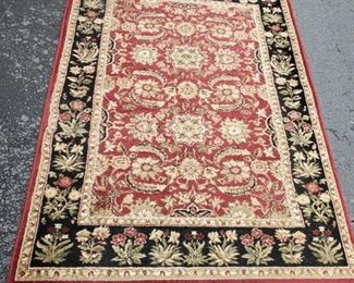 Red and Black Oriental Rug https://ctbids.com/#!/description/share/1023381