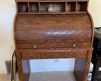 Small roll top desk