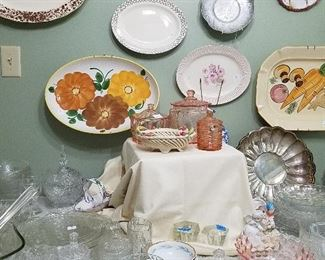 vintage glassware. so many options for adding beauty to your collections.