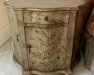Perfect Painted Demilune Chest