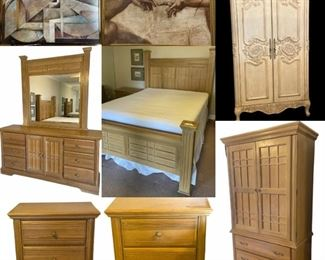 Furniture, Antiqued Finish Armoire, Vintage 90's Versace Shirts, Signed Contemporary Artwork, Vintage Men's Suit Form, Vintage Brass Purse, Diamond Graphics Card, Sony Car Audio Speakers & Stereo, Jewelry, Shoes, Handbags & MORE!  CCTV Security Cameras & Screen, BOSS Audio/Video Switcher, New Granite Countertop w/Sink, Pool Pump Parts, Clay Flower Pots,  Makeup Brushes, Paula Young Wigs, Etc.