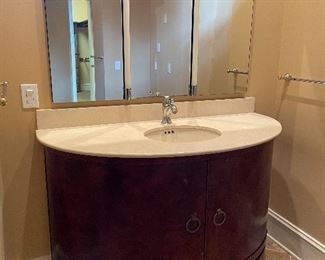 these vanities include the sinks & faucets