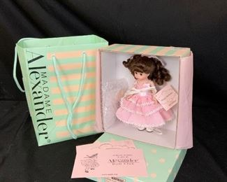 9 Madame Alexander Doll