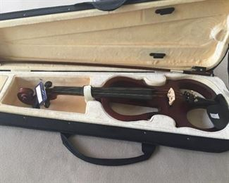 Electric Violin by Carlo Robelli