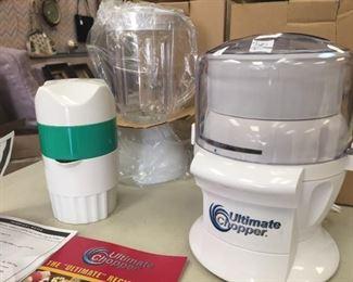 Ultimate Chopper/Blender & Juice (New)