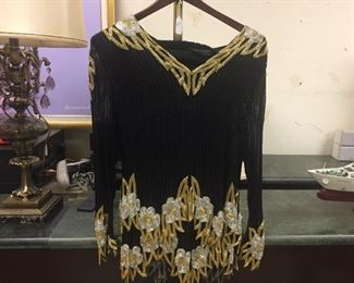 Custom Made Top & Matching Skirt